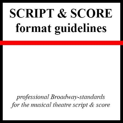 Gudelines for script and score formatting