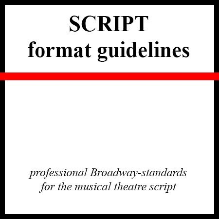 script format guidelines