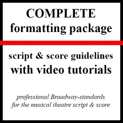 Complete format guidelines