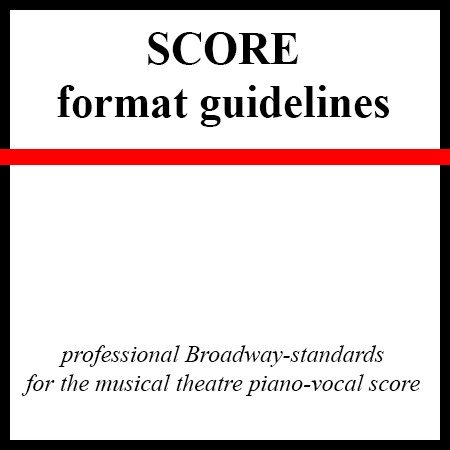 score format guidelines