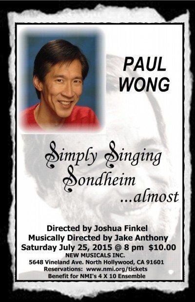 Simply Singing Sondheim