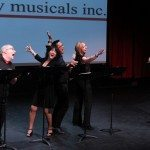 "David Holmes, Andrea Press, Tedd Szeto, Christina Valo, and Peter Welkin in ""Doin' a Doo-Wop"" from OKLAHOMA IN WISCONSIN by Richard Castle and Matthew Levine"
