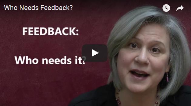 A Video Blog About Avoiding Feedback.