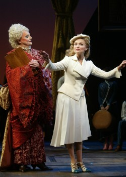 Carole Shelley and Kristin Chenoweth in <i>Wicked</i>